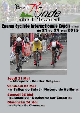 Affiche 38ème Ronde de l'Isard