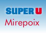 Super U Mirepoix logo