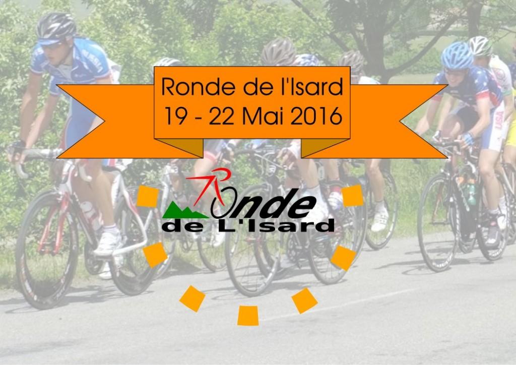 Fanion Ronde de l'Isard 2016